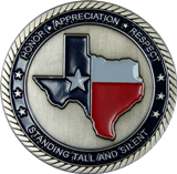 Texas PGR Challenge Coin